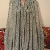 тонкий нежный шарф палантин