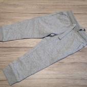 Германия! Спортивные джогеры штаны на мальчика 86-92 двунить