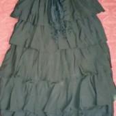 Шикарная юбка с декоратичным поясом