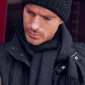 ☘ Шикарний тканий шарф від Tchibo (Німеччина), розмір універсальний