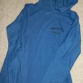 мужская оригинальная футболка с капюшоном, двунить,. Германия