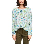 ☘ Лот 1 шт ☘ Чудова блуза з квітковим візерунком, від s.oliver (Німеччина), розмір 40 євро