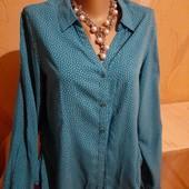 Блузка стильная в  горошек