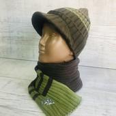 ☘ Тепла шапочка від Lidl (Німеччина), розмір 98-104