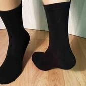 Лот 4 пари.Чорні чоловічі шкарпетки.100% коттон