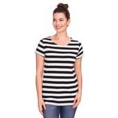 ☘ Лот 1 шт ☘ Жіноча футболка в смугастий вигляд від Gina Benotti (Німеччина), розмір L 44/46 євро