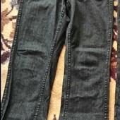 Брюки-джинсы двусторонние на 48-52рр. .