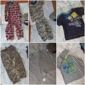пакет одежды для чс/ дачи/двора 3-4года лот хороший
