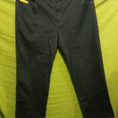 Чёрные джинсы Deutsche Post!!!! Германия_Oeko-tex Standard 100!!! богатырские (поб 69 см)_не секонд!