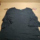Германия!!! Симпатичная женская блуза с интересным дизайном! 44/46 евро! Есть зацепов несколько!