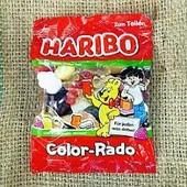 Німеччина. Желейні цукерки Haribo Color-Rado, 100 гр