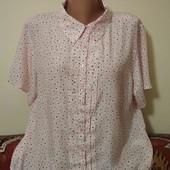 шелковистая блузка пог. 59