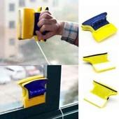 Магнитная щетка для двухстороннего мытья стекол/окон