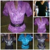 Женская блузка микс