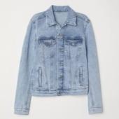 H&M_Джинсовая куртка_32р_Т(47-193-3-16_053)
