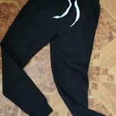 Спортивні штани з начосом для хлопчиків Glo-Story 146р. р.Чорні