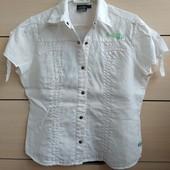 38-40р.Льняная рубашка-блузка на кнопках Garcia Jeans