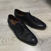 Мужские туфли броги натуральная кожа
