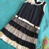 Платье Garden baby, 5-6 лет, рост 116 см