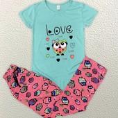 Классные женские пижамки р.s,m,l,xl Турция