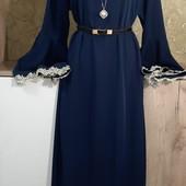 Собираем лоты!!! Очень красивое платье в пол, размер L