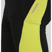 Мужские велошорты черно-желтые crivit, размер м