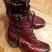 Ботиночки натур кожа р37 стелькам24 см