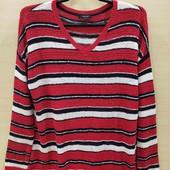Esmara свитер из ленточной пряжи 44-46 L