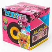 L. o. l. surprise Remix hair flip dolls Лол ремікс оригінал волосся музика пластинка волосатик Mga