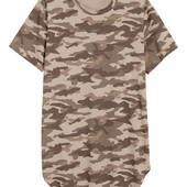 H&M болотная (хаки) летняя футболка_L_К(00-375-16-47_015)