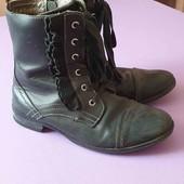 Ботинки кожаные весна 36р