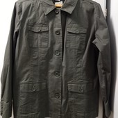 Новая фирменная коттоновая (98%) курточка, ветровка из Америки. Р-р L