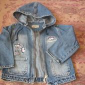 Курточка джинсовая, р,104