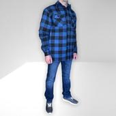 Бомба Фирменная тёплая мужская куртка-рубашка с карманами врезными,на весну! бренд Fox Outdoor