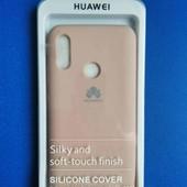 Силіконовий чехол+захисне скло 5D Huawei P smart / honor 10 lite