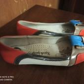 Новые туфли, стелька кожа, нарядные