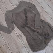 Платье в винтажном стиле комбинированые ткани, S