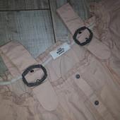 Очень оригинальная блуза на лето с пряжками от Gina Benotti M 40/42