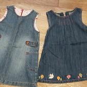 джинсовые сарафанчики