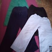 5 фирменных штанишек, р.110 -116