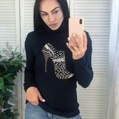 Тёплые турецкие свитерки, Качество Супер!! 46-48 р.