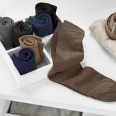 лот 2 пары! Носки из высококачественного органического хлопка Tchibo германия размер 44/46