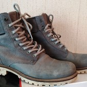 Ботинки унисекс дорогого бренда, натуральная кожа, производствоПортугалия