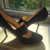 Туфли замшевые разм. 38 стелька 25,5 см