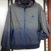 Куртка мужская демисезонная двухсторонняя 2хл. Распродажа
