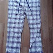 Тепленькие фланелевые брюки для дома и отдыха, Германия, размер примерно 48 евро, на наш 52/54