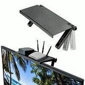 Универсальная полочка, полка подставка screen top shelf для телевизора, монитора