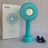 Портативный вентилятор мини вентилятор настольный белый! 2е фото