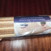 бамбуковый ранер, цвет на выбор