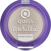 Тени для век Quiss Metallic Eyeshadow тон 01